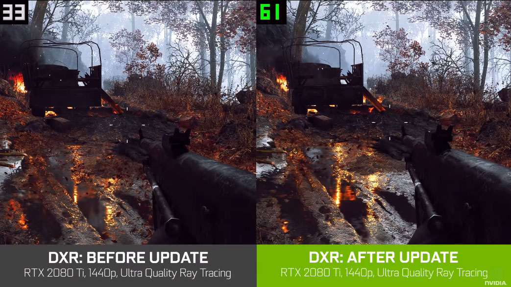 Battlefield 5 update aims to boost ray tracing performance