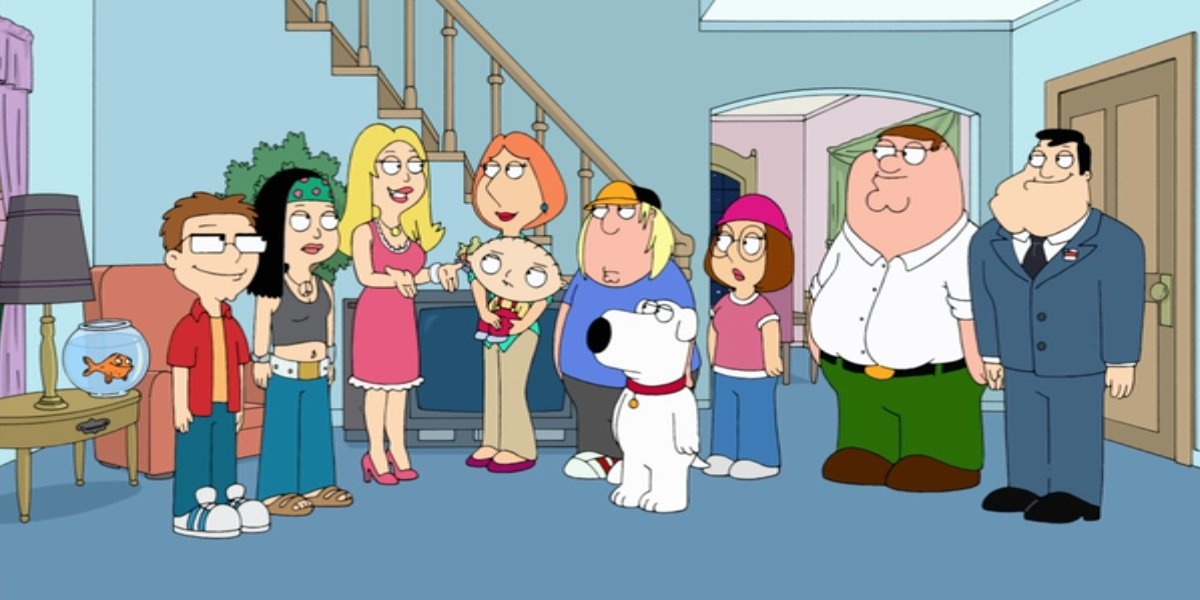 The Smiths meets the Griffins on Family Guy