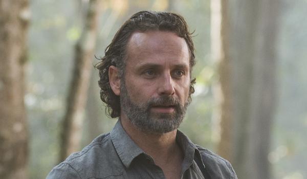 Rick worried walking dead
