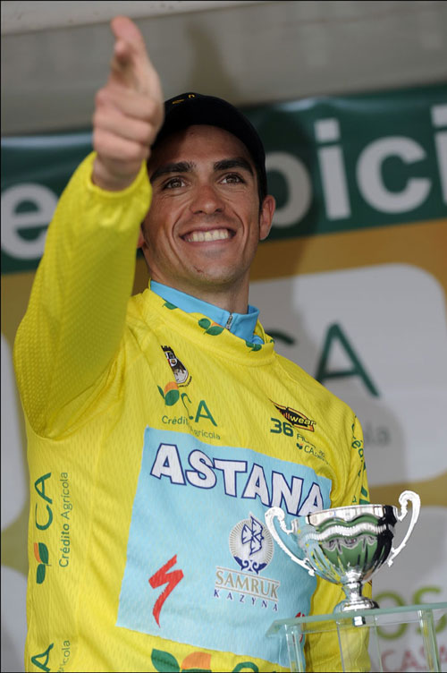 Alberto Contador, Tour of the Algarve 2010, stage four