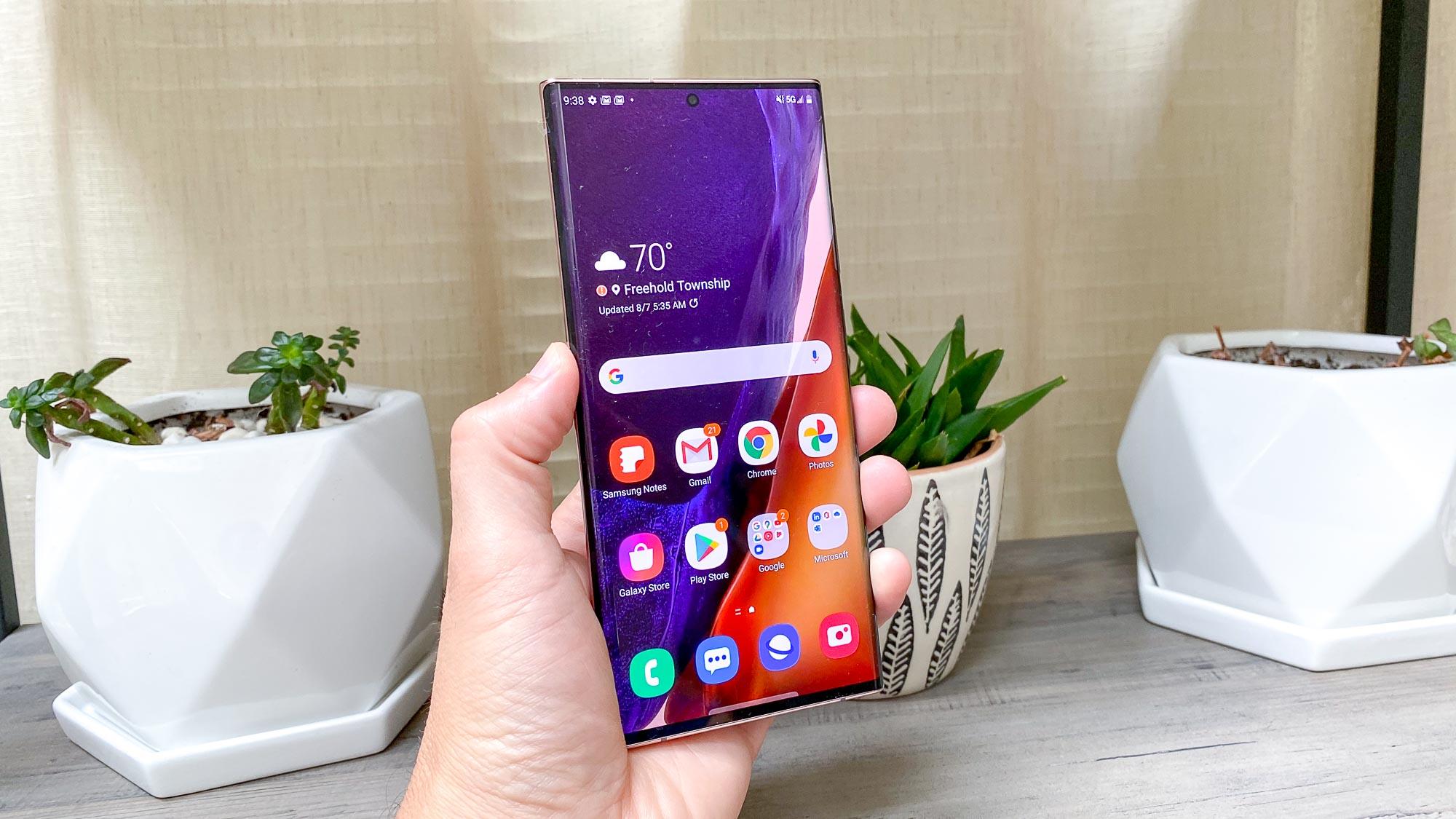 Samsung Galaxy Note 20 Ultra size