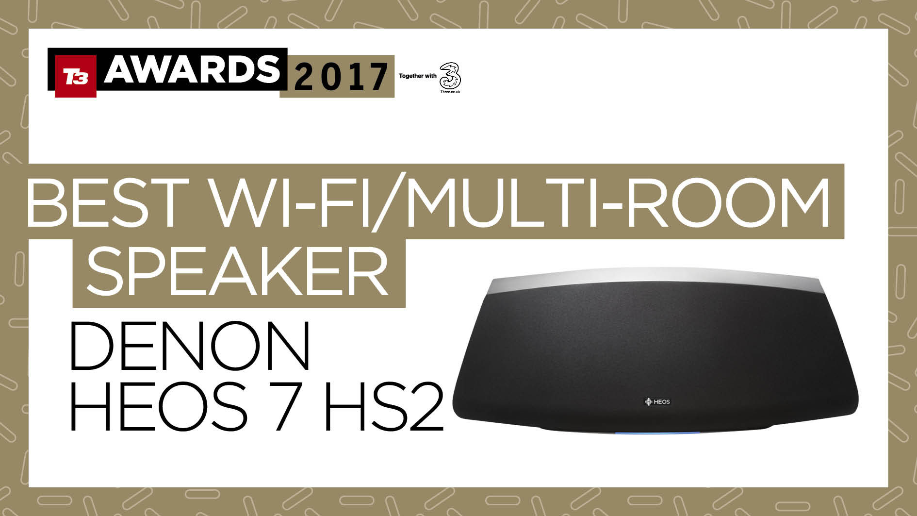The T3 Awards 2017 Together With Three All Of This Years Winners 2 Way Speaker Switch Maplin