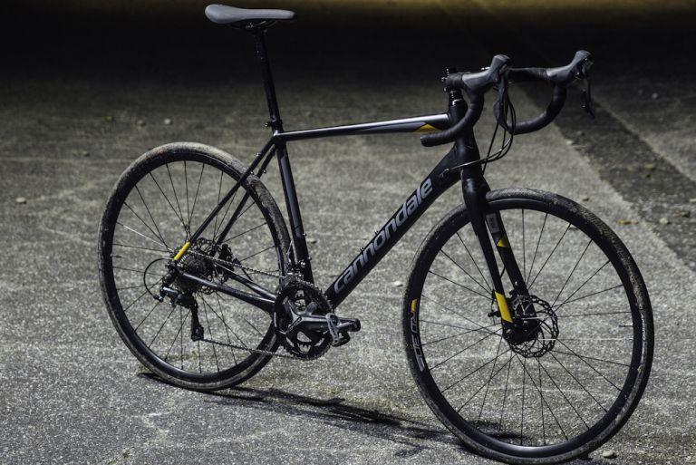 Cannondale Synapse Tiagra winter road bike