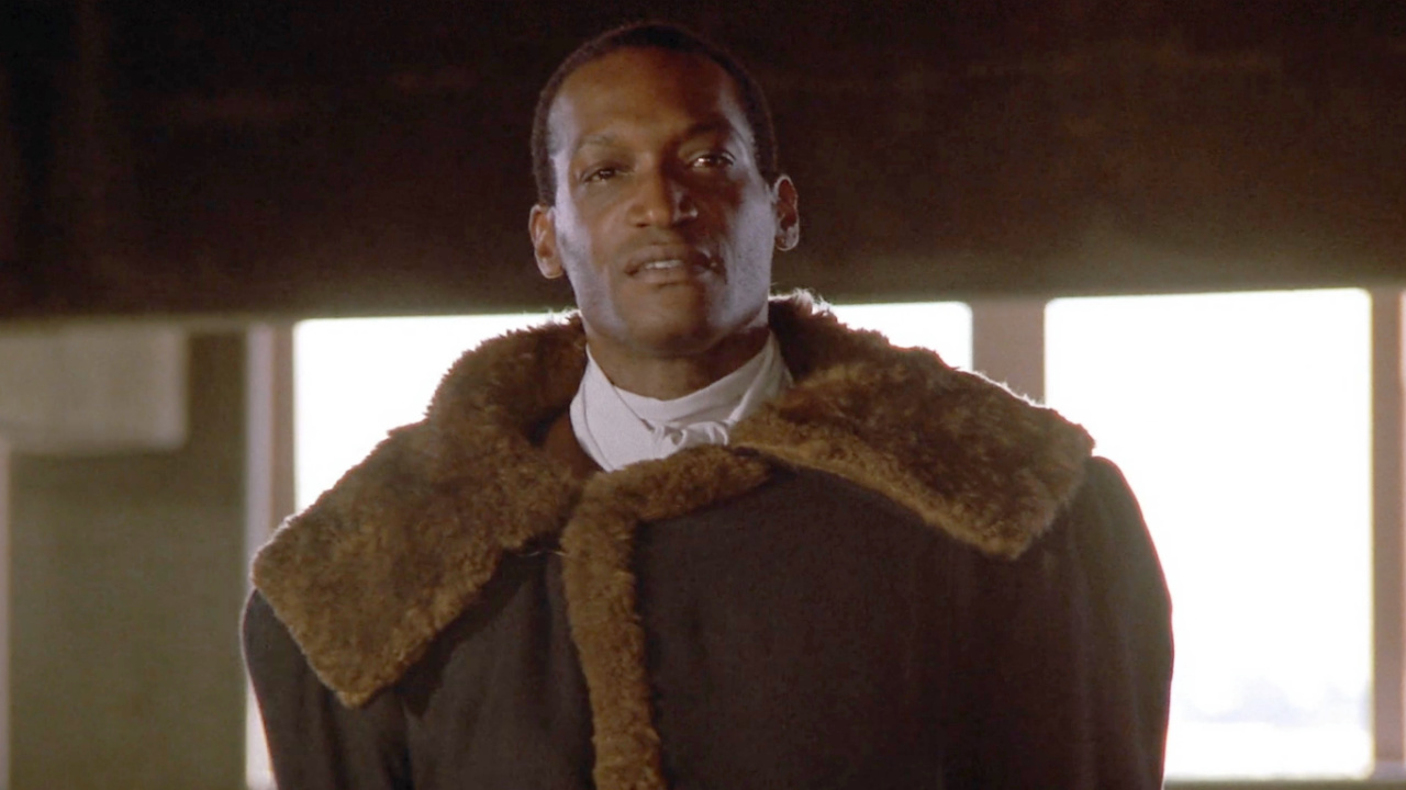The ghost of Candyman in Candyman.