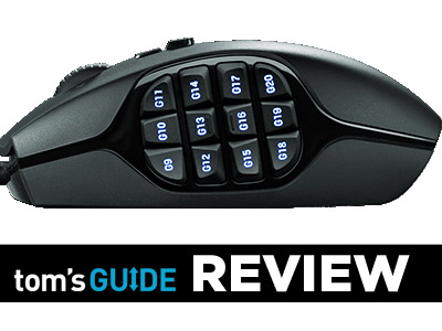 Logitech G600 MMO Review - 20-Button Laser Gaming Mouse
