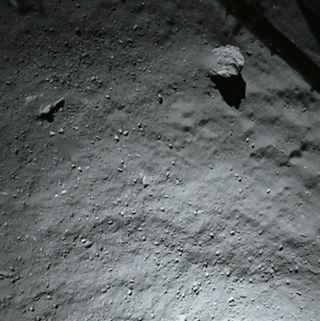 Comet 67P/Churyumov-Gerasimenko from 131 Feet (40 Meters)