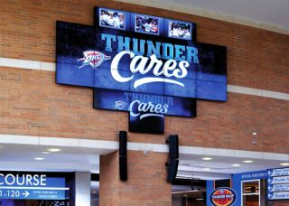 Chesapeake Energy Arena Lights Up with Planar Displays