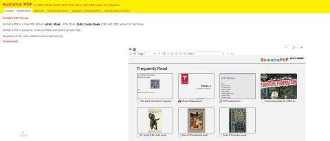 Sumatra PDF Review Hero