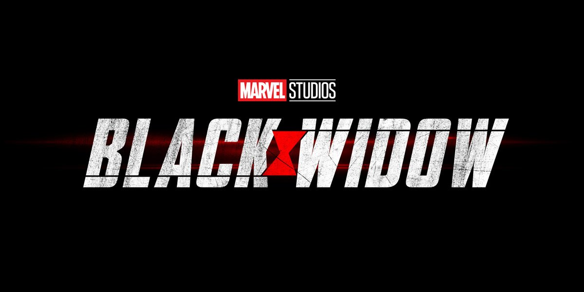 Black Widow marvel studios logo