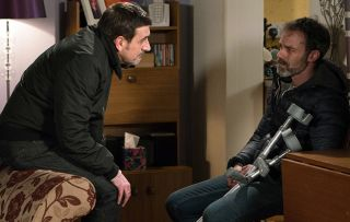 Billy Mayhew is caught stealing by Peter Barlow and lands Summer in big danger