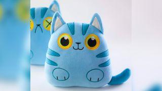 Hashtag Collectibles Schrödinger's Cat Plush Pillow