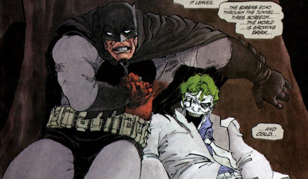 Batman Joker Tunnel of Love The Dark Knight Returns