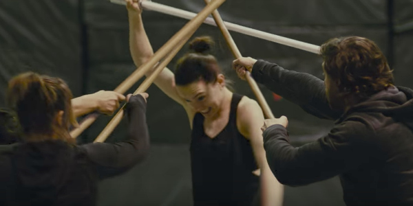 Rey rehearsing