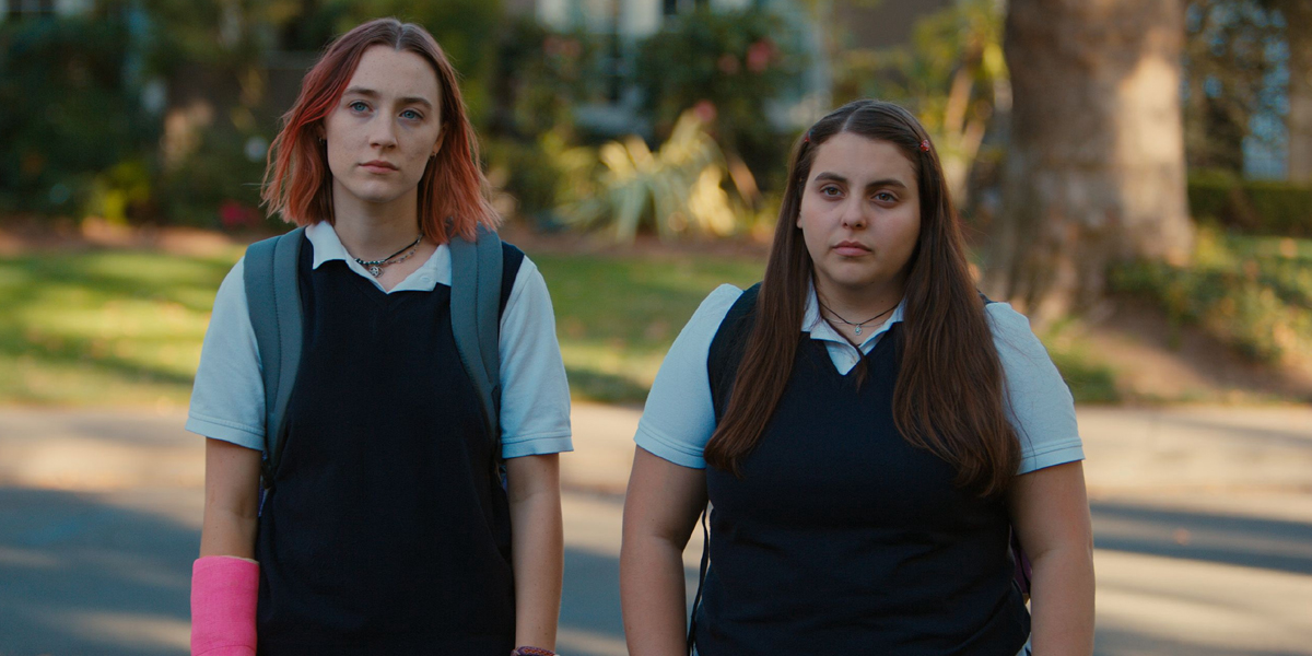 Lady Bird Ronan and Beanie Feldstein