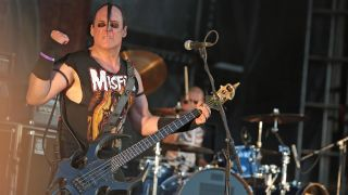Jerry Only of the Misfits live