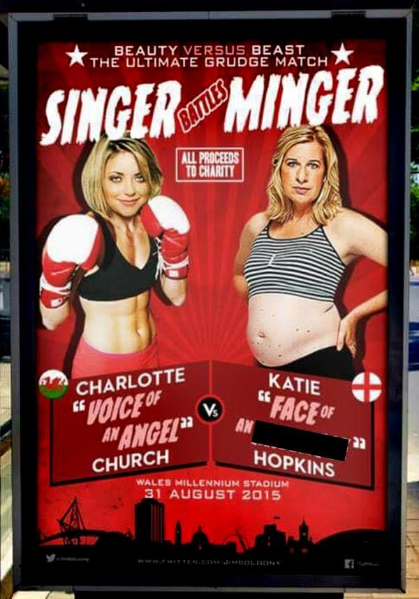 Charlotte vs Katie (Twitter/JimboLoony)