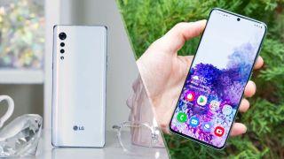 LG Velvet vs. Samsung Galaxy S20