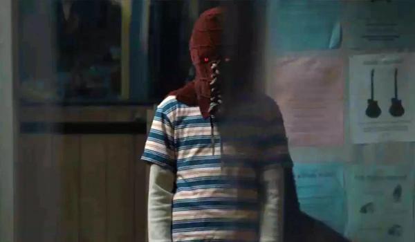 Brightburn kid in mask