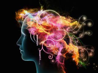 An artist's image of a creative mind