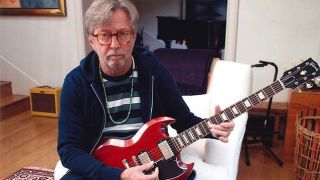 Eric Clapton with a 2007 Gibson SG Standard