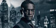 Why Gotham's Chris Chalk Has No Problem Following Morgan Freeman As Lucius Fox