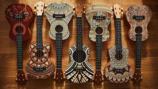 Harley Benton World-S and World-C ukuleles