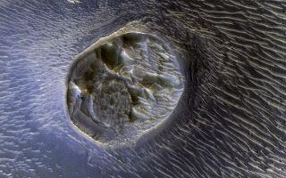 Mars Mesa and Sand Dunes