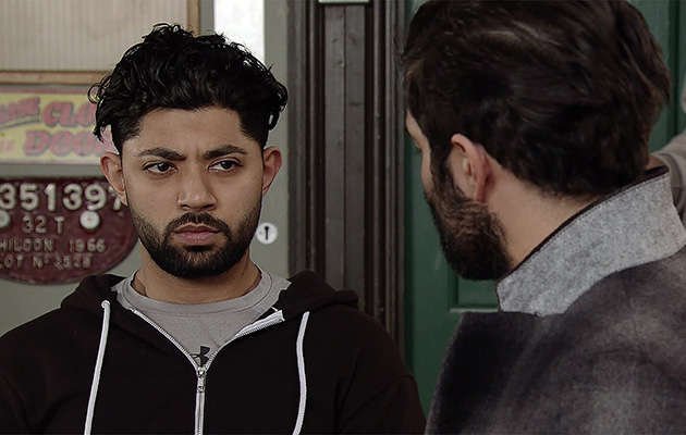 Imran tries to help when a troubled Zeedan sees Kate and Rana arm in arm