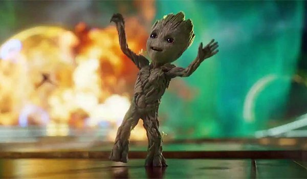 Baby Groot Dancing Guardians of The Galaxy Vol. 2
