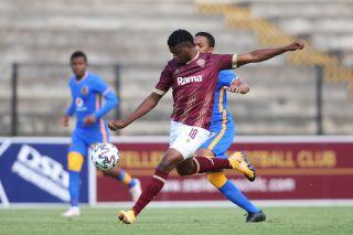 Phathutshedzo Nange of Stellenbosch FC