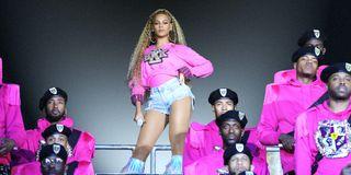 Beyonce in Netflix's Homecoming Coachella concert documentary