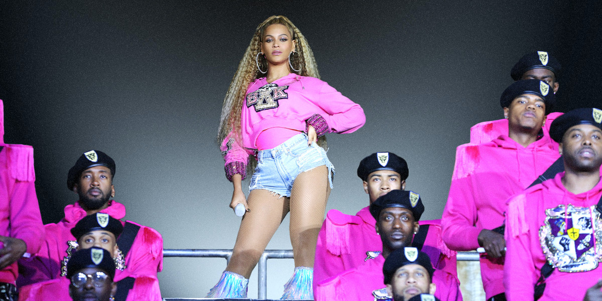 Beyonce in Netflix's Homecoming Coachella concert documentary