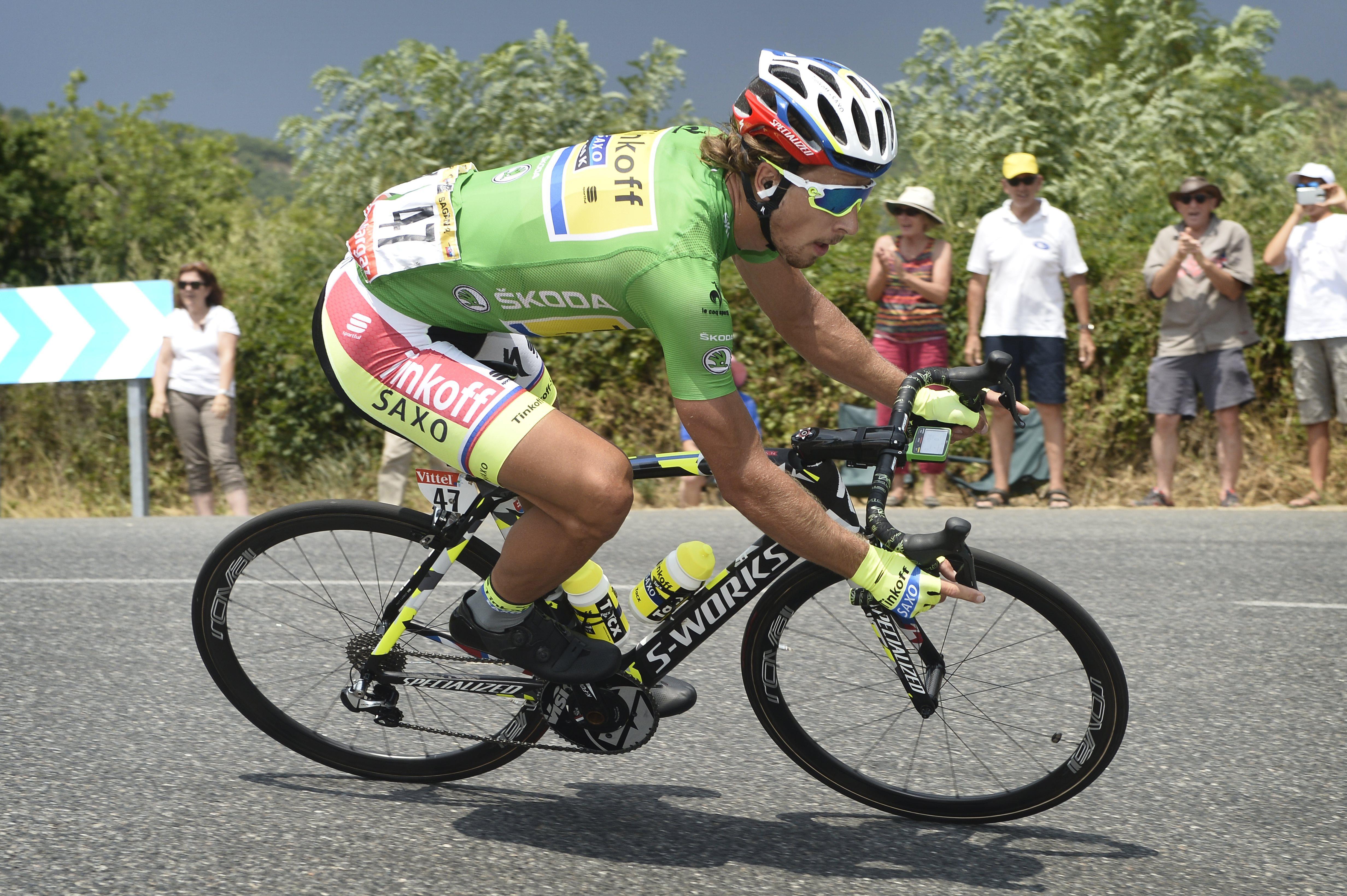 99fcb43d4 Watch: Peter Sagan's amazing descent of the Col de Manse - Cycling ...