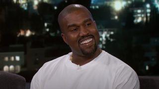 Kanye West speaks on Jimmy Kimmel Live!