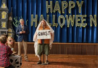 Adam Sandler stars in the Netflix Original Hubie Halloween.