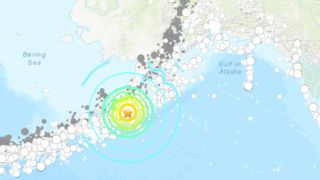 A 7.8-magnitude earthquake struck off the Alaskan coast on July 22, 2020.