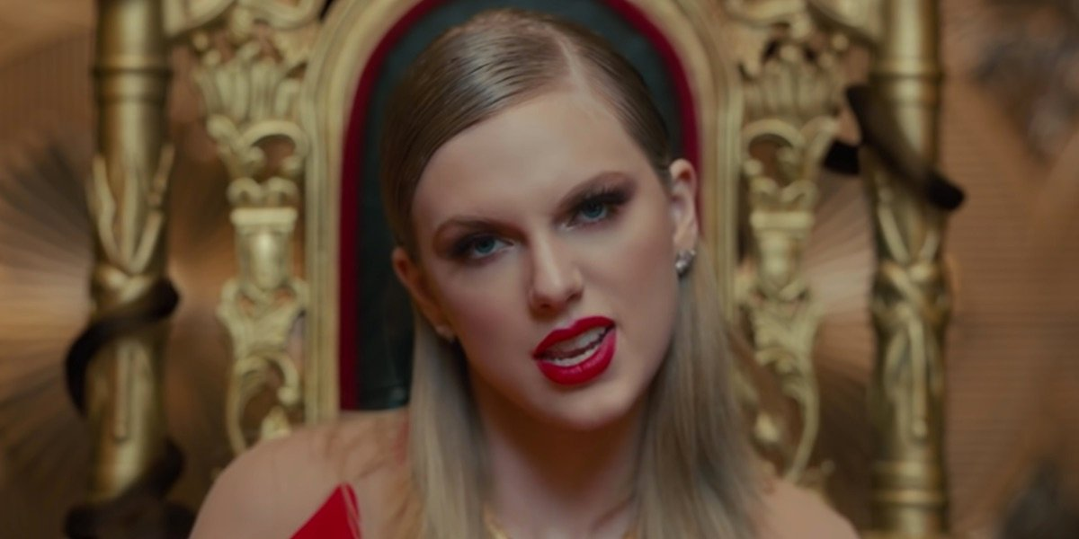 Taylor Swift in the Look What You Made Me Do video