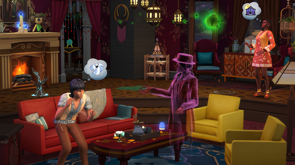 The Sims 4 is getting a Paranormal Pack just in time for 3 months after Halloween