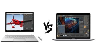Macbook Pro 2018 Vs Surface Book 2 The Most Premium Pro Laptops