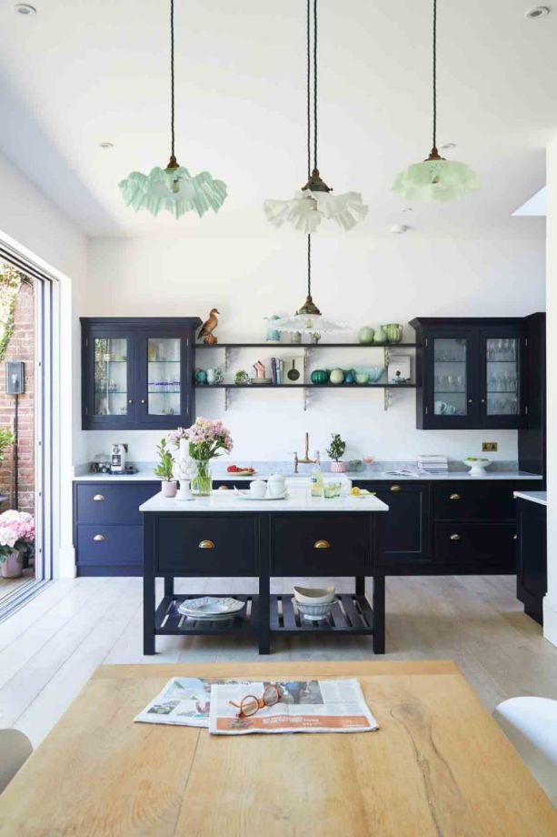 Blue Kitchen Ideas Powder Navy Dark
