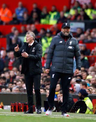 Manchester United v Liverpool – Premier League – Old Trafford