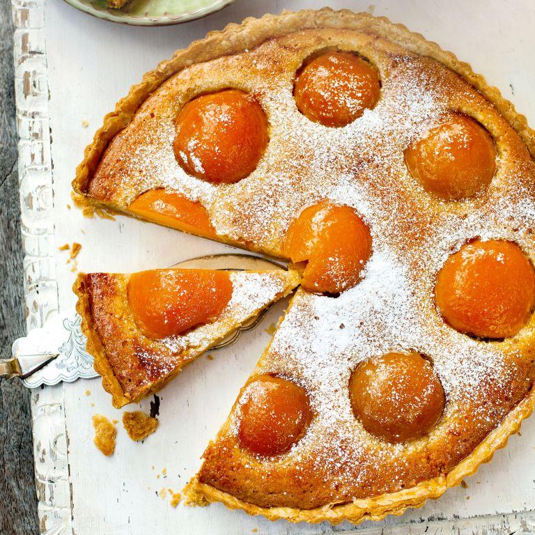 Peach tart-frangipane-summer recipes-baking-woman and home