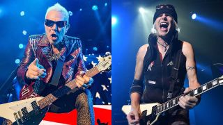Rudolf Schenker and Michael Schenker