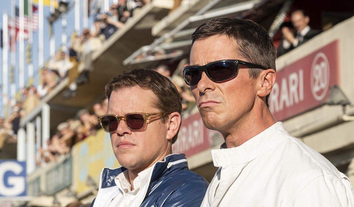 Matt Damon and Christian Bale in Ford v. Ferrari