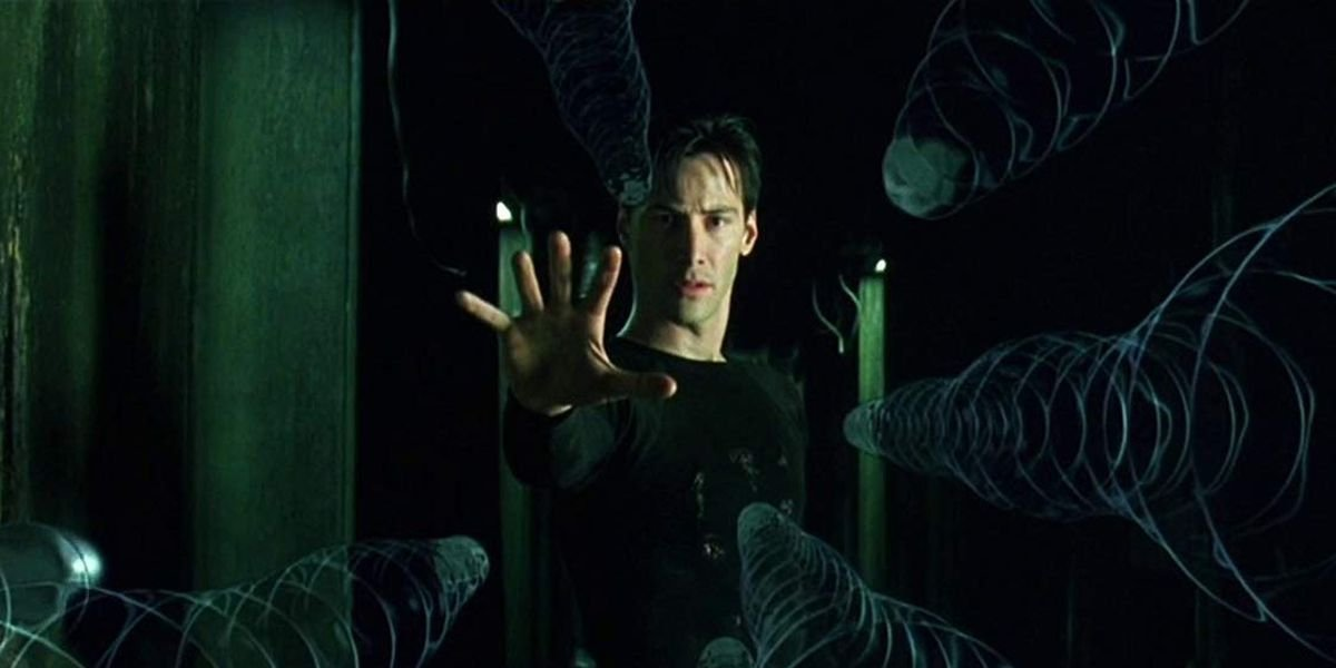 Neo (Keanu Reeves) in 'The Matrix'