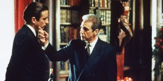 Andy Garcia and Al Pacino in The Godfather Coda: The Death of Michael Corleone