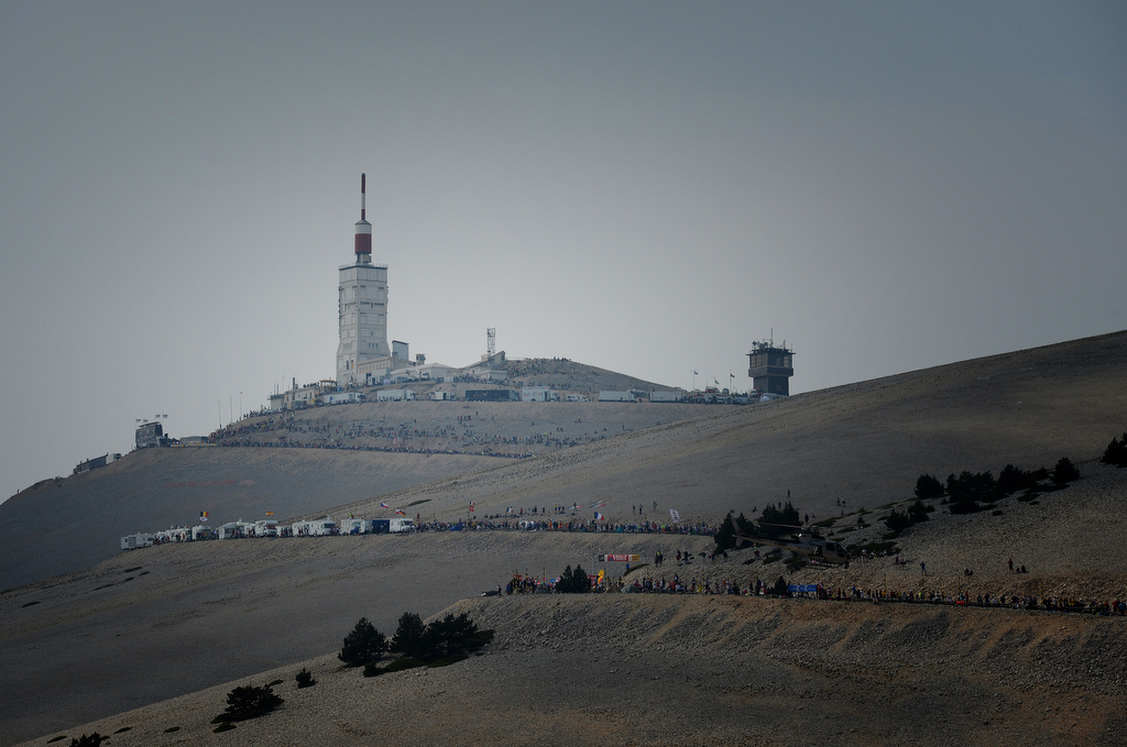 The mythical Mont Ventoux in all its glory