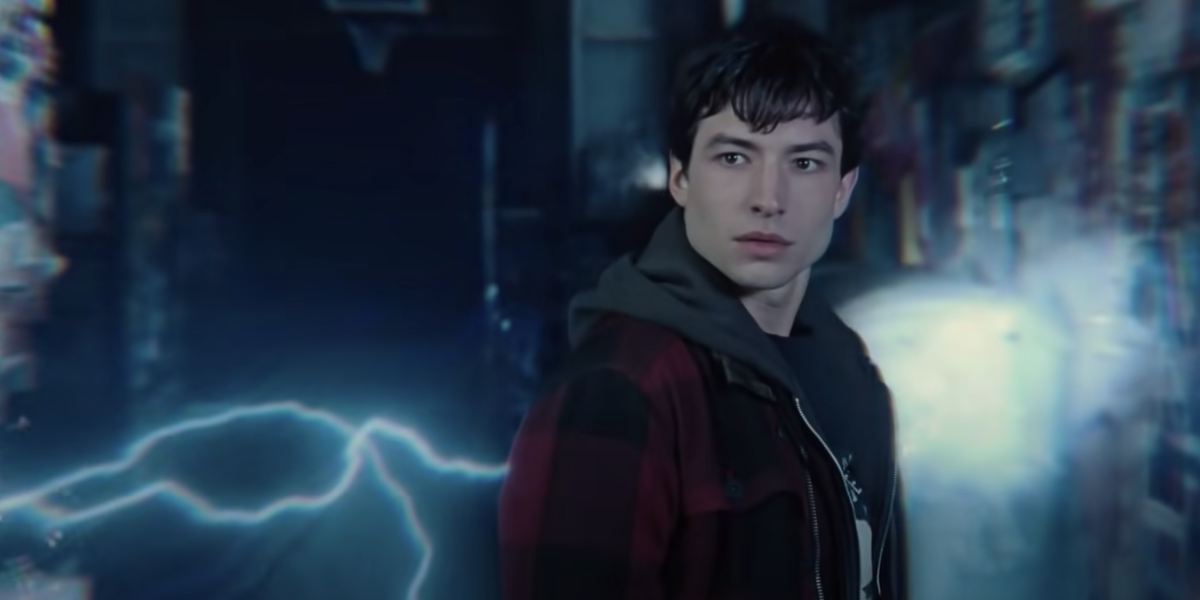 Ezra Miller is The Flash