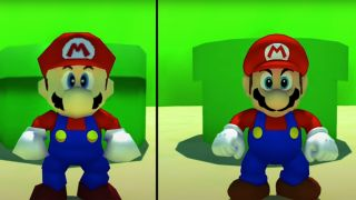 Mario with ray tracing