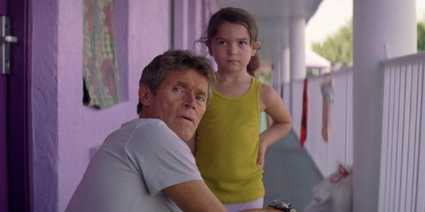 Willem Dafoe and Brooklynn Prince in Florida Project